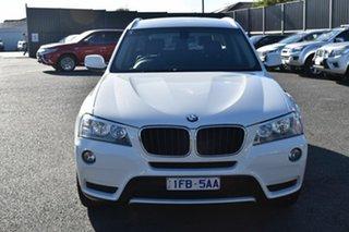 2014 BMW X3 F25 MY1213 xDrive20i Steptronic White 8 Speed Automatic Wagon.