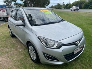 2013 Hyundai i20 PB MY13 Active Silver 6 Speed Manual Hatchback