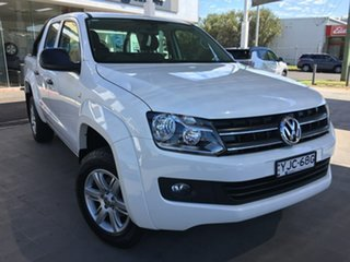 2016 Volkswagen Amarok 2H TDI420 Core Plus White Automatic
