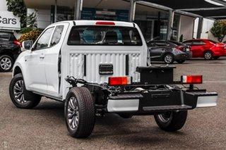 2020 Mazda BT-50 TFS40J XT Freestyle White 6 Speed Manual Cab Chassis
