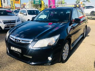 2012 Subaru Liberty B5 MY12 Exiga Lineartronic AWD Blue 6 Speed Constant Variable Wagon.