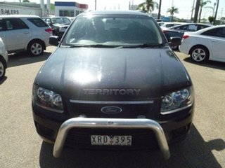 2010 Ford Territory SY MkII TX AWD Black 6 Speed Sports Automatic Wagon.
