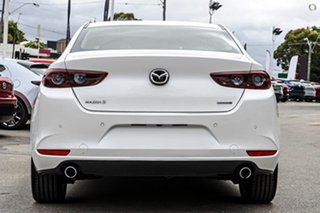 2020 Mazda 3 BP2S7A G20 SKYACTIV-Drive Evolve White 6 Speed Sports Automatic Sedan.