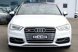2015 Audi S3 8V MY15 Sportback S Tronic Quattro White 6 Speed Sports Automatic Dual Clutch Hatchback