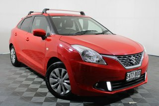 2016 Suzuki Baleno EW GL Red 4 Speed Automatic Hatchback.
