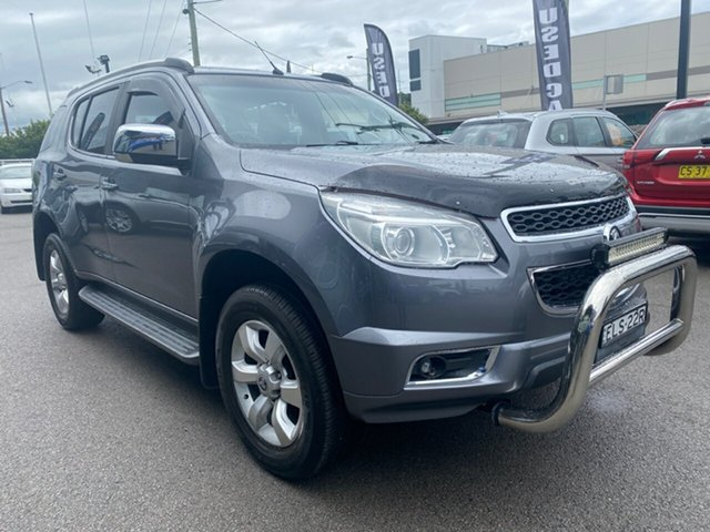 Used Holden Colorado 7 RG MY15 LTZ Cardiff, 2015 Holden Colorado 7 RG MY15 LTZ Silver 6 Speed Sports Automatic Wagon