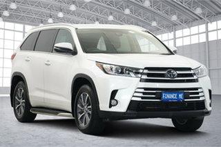 2019 Toyota Kluger GSU55R GXL AWD White 8 Speed Sports Automatic Wagon.