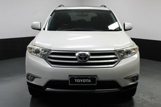 2013 Toyota Kluger GSU40R MY12 Altitude 2WD White 5 Speed Sports Automatic Wagon