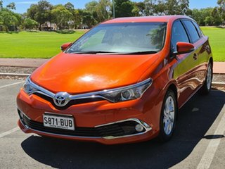 2016 Toyota Corolla ZRE182R Ascent Sport S-CVT Orange 7 Speed Constant Variable Hatchback.