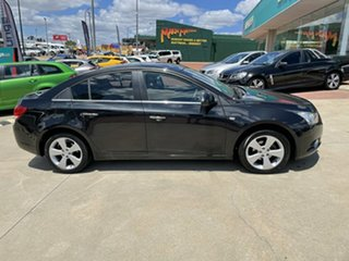 2010 Holden Cruze JG CDX Black 6 Speed Automatic Sedan