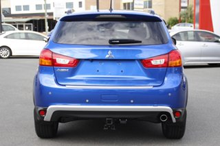 2016 Mitsubishi ASX XC MY17 XLS 2WD Blue 6 Speed Constant Variable Wagon