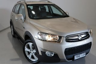 2012 Holden Captiva CG Series II MY12 7 AWD LX Gold 6 Speed Sports Automatic Wagon.