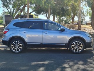 2012 Nissan Dualis J107 Series 3 MY12 +2 Hatch X-tronic 2WD Ti-L Grey 6 Speed Constant Variable.