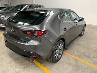 2020 Mazda 3 BP2H7A G20 SKYACTIV-Drive Evolve Machine Grey 6 Speed Sports Automatic Hatchback