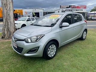 2013 Hyundai i20 PB MY13 Active Silver 6 Speed Manual Hatchback.