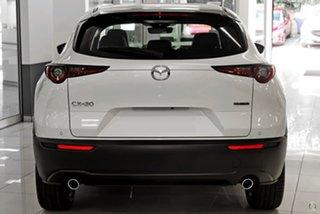 2020 Mazda CX-30 DM2WLA G25 SKYACTIV-Drive Touring White 6 Speed Sports Automatic Wagon