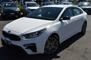 2020 Kia Cerato BD MY20 GT DCT White 7 Speed Sports Automatic Dual Clutch Sedan.