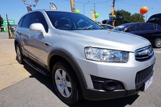 2011 Holden Captiva CG Series II 7 SX Nitrate Silver 6 Speed Sports Automatic Wagon