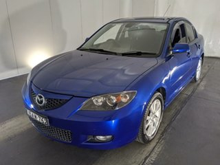 2006 Mazda 3 BK10F2 Maxx Sport Blue 4 Speed Sports Automatic Sedan.
