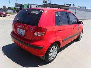2005 Hyundai Getz TB MY06 Red 4 Speed Automatic Hatchback.