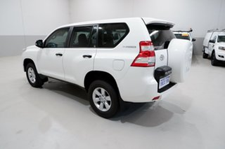 2017 Toyota Landcruiser Prado GDJ150R GX White 6 Speed Sports Automatic Wagon