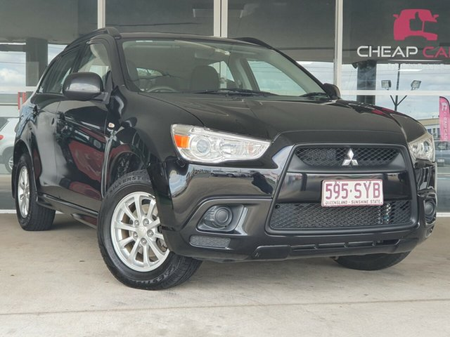 Used Mitsubishi ASX XA MY11 2WD Brendale, 2011 Mitsubishi ASX XA MY11 2WD Black 6 Speed Constant Variable Wagon