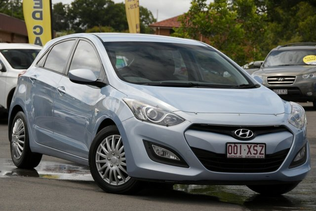 Used Hyundai i30 GD Active Toowoomba, 2013 Hyundai i30 GD Active Blue 6 Speed Sports Automatic Hatchback