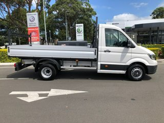 2020 Volkswagen Crafter SY1 MY20 50 MWB TDI410 White 8 Speed Automatic Cab Chassis