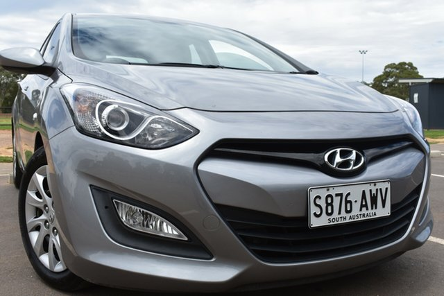 Used Hyundai i30 GD Active St Marys, 2013 Hyundai i30 GD Active Grey 6 Speed Sports Automatic Hatchback