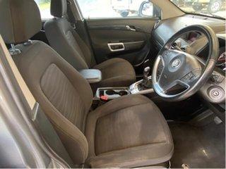 2012 Holden Captiva Grey 6 Speed Manual Wagon