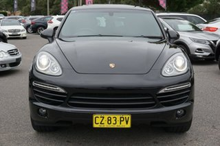 2014 Porsche Cayenne 92A MY14 Diesel Tiptronic Black 8 Speed Sports Automatic Wagon.
