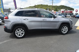 2018 Jeep Cherokee KL MY19 Longitude Silver 9 Speed Sports Automatic Wagon.