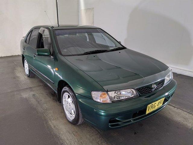Used Nissan Pulsar N15 S2 LX Maryville, 1998 Nissan Pulsar N15 S2 LX Green 5 Speed Manual Sedan