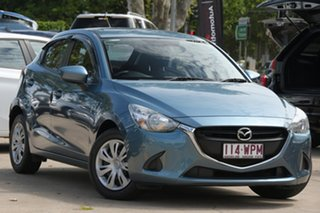 2016 Mazda 2 DJ2HA6 Maxx SKYACTIV-MT Blue 6 Speed Manual Hatchback.