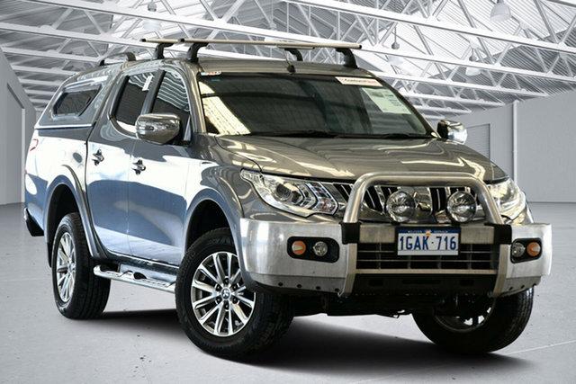 Used Mitsubishi Triton MQ MY16 GLS (4x4) Perth Airport, 2016 Mitsubishi Triton MQ MY16 GLS (4x4) Titanium 5 Speed Automatic Dual Cab Utility