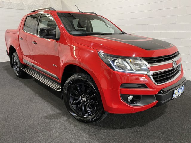 Used Holden Colorado RG MY19 Z71 Pickup Crew Cab Glenorchy, 2018 Holden Colorado RG MY19 Z71 Pickup Crew Cab Red 6 Speed Sports Automatic Utility