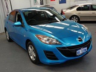 2009 Mazda 3 BL10F1 Maxx Activematic Blue 5 Speed Sports Automatic Sedan.