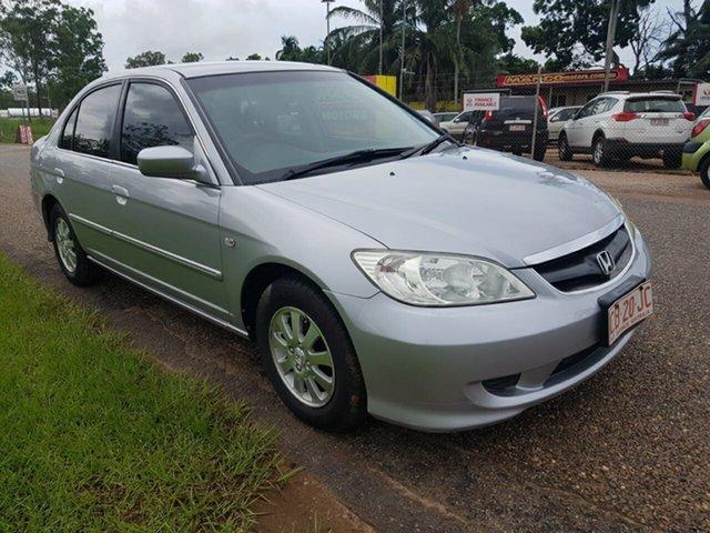 Used Honda Civic 7th Gen MY2004 GLi Pinelands, 2005 Honda Civic 7th Gen MY2004 GLi Silver 4 Speed Automatic Sedan