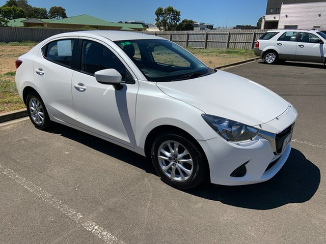 Used Mazda 2 DL2SAA Maxx SKYACTIV-Drive Warrnambool East, 2016 Mazda 2 DL2SAA Maxx SKYACTIV-Drive White 6 Speed Sports Automatic Sedan