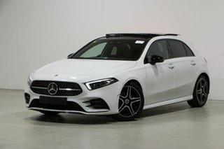 2018 Mercedes-Benz A200 177 MY19 White 7 Speed Auto Dual Clutch Hatchback.