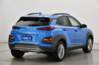 2020 Hyundai Kona OS.3 MY20 Elite D-CT AWD Blue Lagoon 7 Speed Sports Automatic Dual Clutch Wagon