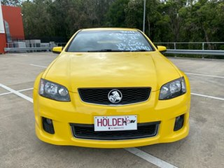 2011 Holden Commodore VE II MY12 SS Yellow 6 Speed Automatic Sedan