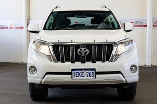 2013 Toyota Landcruiser Prado KDJ150R MY14 GXL (4x4) Glacier White 5 Speed Sequential Auto Wagon