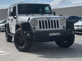 2014 Jeep Wrangler JK MY2015 Unlimited Sport White 5 Speed Automatic Softtop.