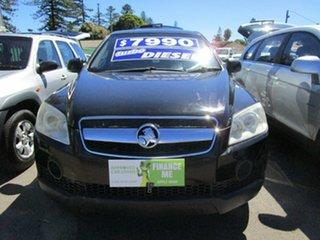 2007 Holden Captiva CG SX (4x4) Black 5 Speed Automatic Wagon.
