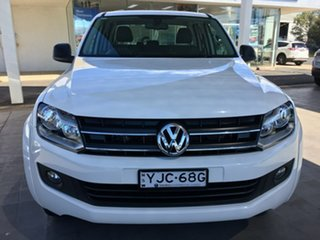2016 Volkswagen Amarok 2H TDI420 Core Plus White Automatic.