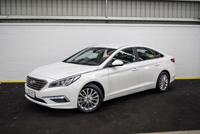 Used Hyundai Sonata LF3 MY17 Active Canning Vale, 2016 Hyundai Sonata LF3 MY17 Active White 6 Speed Sports Automatic Sedan