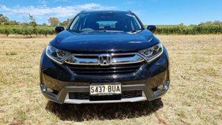 2018 Honda CR-V RW MY18 VTi-S FWD Crystal Black 1 Speed Constant Variable Wagon.