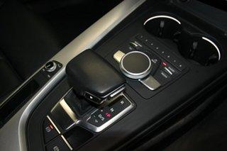 2016 Audi A4 F4 (B9) 2.0 TFSI Quattro S Tronic Spt Silver 7 Speed Auto Dual Clutch Sedan