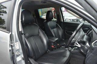 2018 Mitsubishi Triton MR MY19 GLS Double Cab Premium Silver 6 Speed Sports Automatic Utility